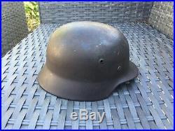 WW2 Original German helmet M35 66/58