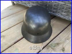 WW2 Original German helmet M35 EF 64