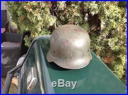 WW2 Original German helmet M35 Q66