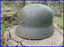 WW2 Original German helmet M35 Q66 20728