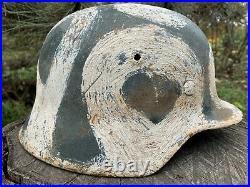 WW2 Original German helmet M40 64