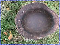 WW2 Original German helmet M40 66