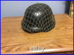 WW2 Original German helmet M42. CKL 64