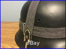 WW2 Original German helmet M42 EF64