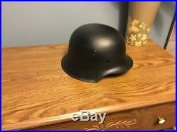 WW2 Original German helmet M42 bvl 62