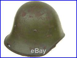 WW2 Romanian helmet Carol II, German Russian front