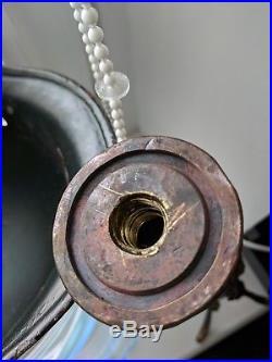 WW2 WWII GERMAN TRENCH ART TABLE LAMP ANTI- TANK MINE SHELL 45mm HELMET M40