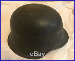 WW2 WWII German Helmet M42 Original Paint w Liner