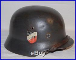 WW2 WWII German M35 dubble decal Lufwaffe helmet