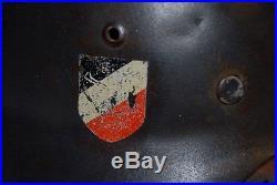 WW2 WWII German M35 dubble decal Lufwaffe helmet, Refurbished