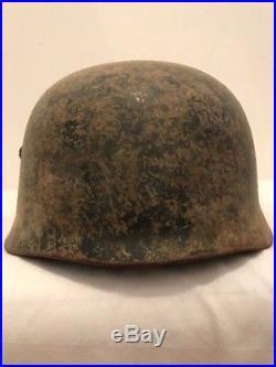 WW2 WWII German M38 Paratrooper Fallschirmjäger Helmet Shell. Orig