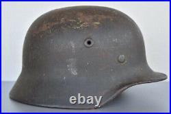 WW2 WWII German M40 Q66 Helmet