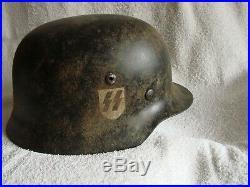 WW2, WWII. German ORYGINAL HELMET
