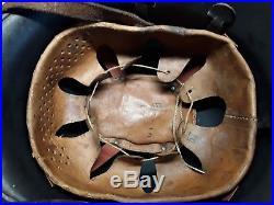 WW2 WWII Helmet German Wehrmacht found in basement. Good condition