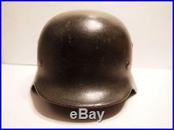 WW2 WWII M40 German Army Heer Helmet Stahlhelm