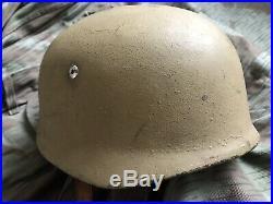WW2 fallschirmjager helmet Small Size Paratrooper Luftwaffe German