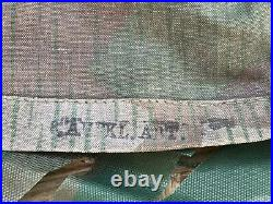 WW2 original unilateral camouflage cover for German helmet. 1940