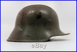 WWI Imperial German trench war combat helmet US Army WW2 officer veteran estate