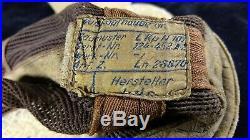 WWII GERMAN LUFTWAFFE SUMMER FLIGHT MESH HELMET LKpN101