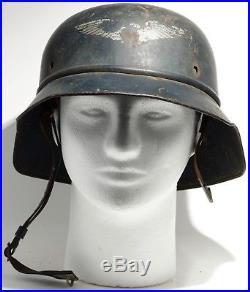 WWII German Air Raid Helmet