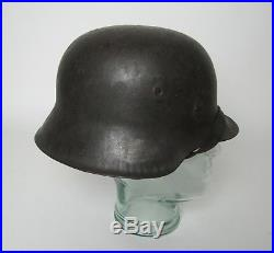WWII German Army M42 Combat Helmet Single Decal Original