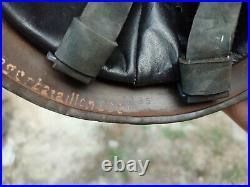 WWII German Fallschirmjager Paratrooper Helmet! Factory stamp