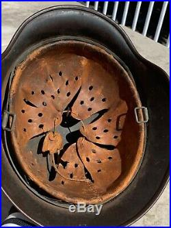 WWII German Helmet, Luftwaffe Bringback