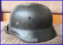 WWII German Helmet M35/66 Great