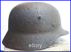 WWII German Helmet M35 DD 64 Size