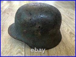 WWII German Helmet M35 DD Q66 G2015
