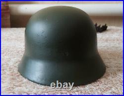 WWII German Helmet M35 SE64 20874