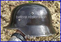 WWII German Helmet M35 SE66