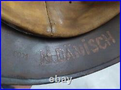 WWII German Helmet M35DD/ SE68 0001 Restored HQ