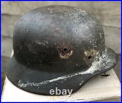 WWII German Helmet M40/ 64