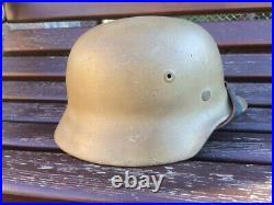 WWII German Helmet M40/ 64 Restored Wehrmacht