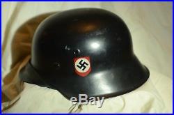 WWII German Helmet M42 NS62 D462
