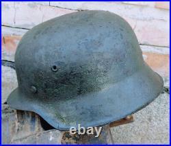 WWII German Helmet M42/ ckl 68
