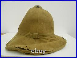 WWII German Italian Rare AFRICA corps PICK/ADEN Tropical Italian SUN HELMET WWII