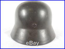 WWII German M1935 Double Decal Luftwaffe Helmet Q66/4287