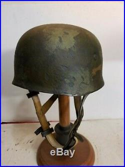 WWII German M38 Fallschirmjager Sturm Regiment Paratrooper Helmet