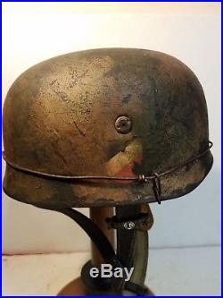 WWII German M38 Fallschirmjager'Sturm Regiment' Paratrooper Helmet
