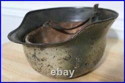 WWII German M40 Heer Helmet 2 Tone Camo WW2