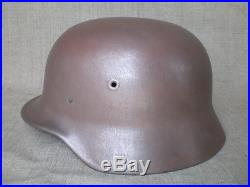 WWII German M40 Helmet EF66