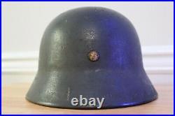 WWII German M40 Luftwaffe Helmet ET64 #513 WW2