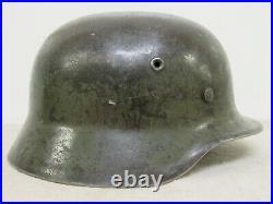 WWII German M40 Steel Helmet in Original Paint