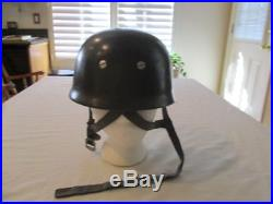 WWII German Original M38 Fallschirmjager Paratrooper Helmet
