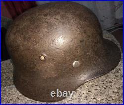 WWII German SS Helmet M40/Q66
