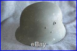 WWII German Vulkan Fibre Parade Helmet