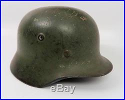 WWII German Wehrmacht camouflage camo steel helmet US Army WW1 Air Corps estate
