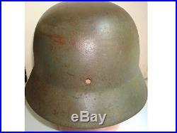 WWII German helmet M35, early, rare